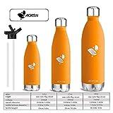 Aorin 750ml Trinkflasche (Orange) - 7