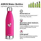 Aorin 750ml Trinkflasche (Rose Red) - 5