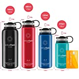 ACTIVE FLASK von BeMaxx Fitness 950ml (Classic Stainless) - 5