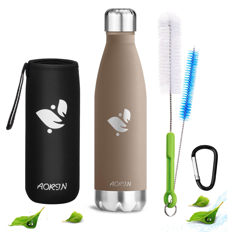 Aorin 750ml Trinkflasche (Braun)