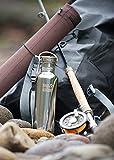 Klean Kanteen Edelstahl Trinkflasche – Reflect aus poliertem Stahl - 5