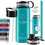 ACTIVE FLASK von BeMaxx Fitness 530ml (Aquatic Cyan)