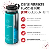 ACTIVE FLASK von BeMaxx Fitness 530ml (Aquatic Cyan) - 3