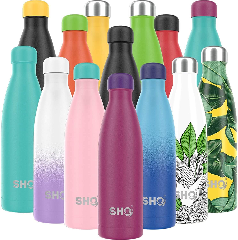 SH Online Edelstahltrinkflaschen Farbauswahl